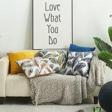 Цветочная подушка крышка Симпатичные штанишки в горошек с вышивкой