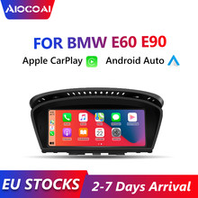 Автомагнитола Apple CarPlay, 8,8 дюйма, Android, для BMW E60, E63, E90, E92, CCC, CIC