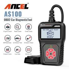 Ancel AS100 Obd2 Auto Diagnose Werkzeug OBD 2 Automotive Scanner Motor Analyzer Tool Code Reader Obdii Scan Tool PK ELM327 v 1,5