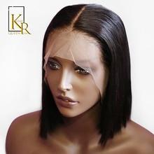 Short Bob Wig 13x4 Lace Front Human Wigs
