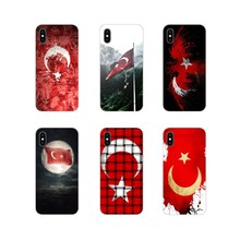 Voor Huawei G7 G8 P7 P8 P9 P10 P20 P30 Lite Mini Pro P Smart Plus 2017 2018 2019 De republiek Turkije Vlag Ankara TPU Cover Bag(China)