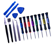 цена на 16-in-1 screwdriver set Android Apple teardown tool mobile phone disassembly precision repair  hand tools