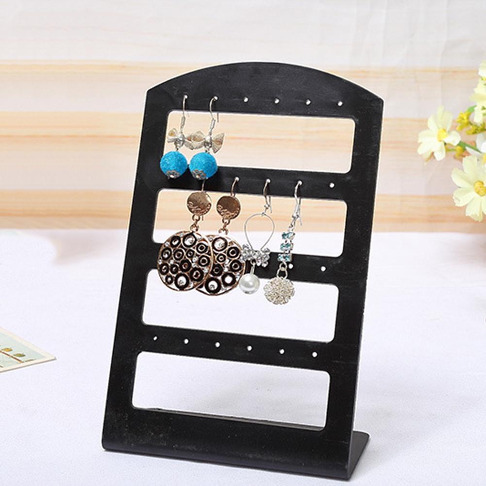 24/48 Holes Acrylic Jewelry Racks Jewelry Organizer Earrings Holder Bracelet Necklace Display Stand Jewelry Storage Racks