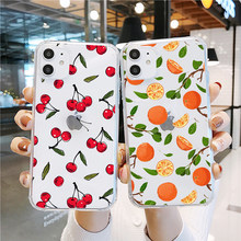 Sommer Tropischen pflanzen Obst avocado kunst telefon fall für Samsung S9 S8 A8 A6 Plus S7 S6 Rand S5 A7 a5 2017 Weiche TPU Silikon Fall(China)