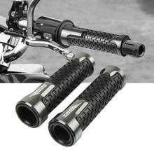 цена Motorcycle Accessories  7/8 22mm Handle Bar Grip Cnc Aluminum For honda NX650 онлайн в 2017 году
