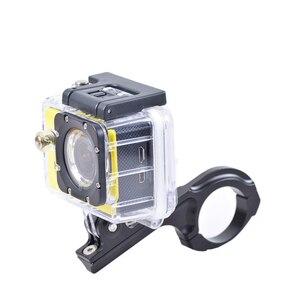 Image 4 - 알루미늄 자전거 자전거 핸들 바 클램프 마운트 홀더 어댑터 표준 31 31.8mm Gopro Hero 2 3 3 + 4 5 6 7 xiaomi yi Camera