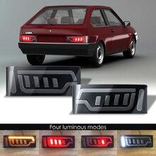 Lada 2108 2109 için led park lambaları 2 adet araba aksesuarları LED arka ışıkları Lada 2108 için 2109 dönüş sinyal ışığı lambası