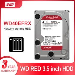 Жесткий диск Western Digital WD Red NAS 4 ТБ-5400 об/мин Класс SATA 6 ГБ/сек. 64 МБ кэш 3,5 дюйма для Decktop Nas