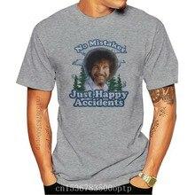 Bob Ross a. Ş. Erkek mutlu kazaları T-Shirt