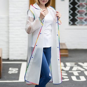 Fashion Adult Raincoat The Same Type Of Hiking Raincoat For Men And Women Fashion Edge-Wrapped Raincoat Protective Suit W4