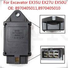 Novo relé de 8970405010 tempos substituição para ex35u ex27u ex50u para isuzu c240 relé tempo do motor 8970405011