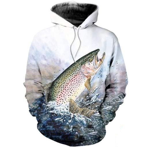 Tessffel New Fashion Animal Marlin Bass Fishing Harajuku Casual Pullover 3DPrint Zipper/Hoodie/Sweatshirt/Jacket/Mens Womens S-3