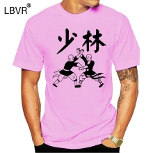 Tshirt Man SHAOLIN CHINA Clothing Short-Sleeve TEMPLE Funny Camisetas KUNGFU New