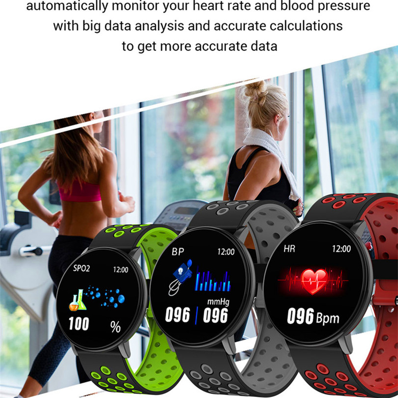 Smart Fitness Bracelet Blood Pressure Measurement Fitness Tracker Waterproof IP67 Smart Band Watch Heart Rate Monitor Smart Fitness Bracelet Blood Pressure Measurement Fitness Tracker Waterproof IP67 Smart Band Watch Heart Rate Monitor Pedometer