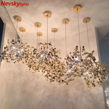 Lámpara colgante de comedor de acero inoxidable Luces colgantes modernas, luminaria led suspendu para restaurante, sala de estar, loft, accesorio de luz