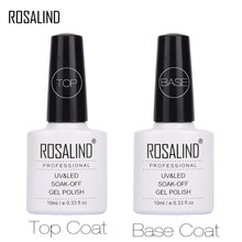Verniz uv da arte do prego da laca do gel do diodo emissor de luz para as unhas semi permanentes rosalind 10ml