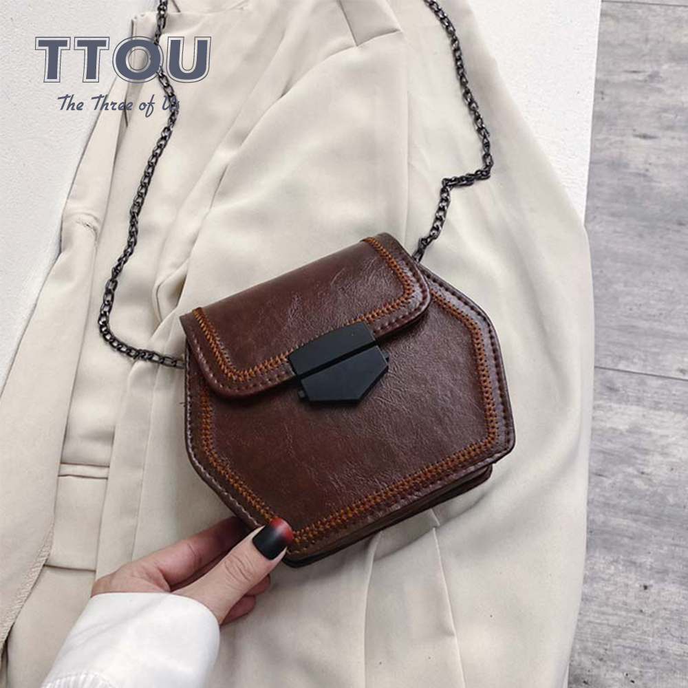 Ladies Luxury Women Shoulder Bags Female Casual Tote Bag Fashion Quality Pu Leather Handbag Chain Shoulder Messenge Ladies Bags