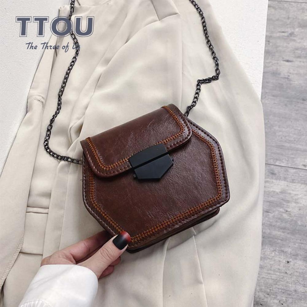 Ladies Luxury Women Shoulder Bags Female Casual Tote Bag Fashion Quality Pu Leather Handbag Chain Shoulder Messenge Ladies Bags