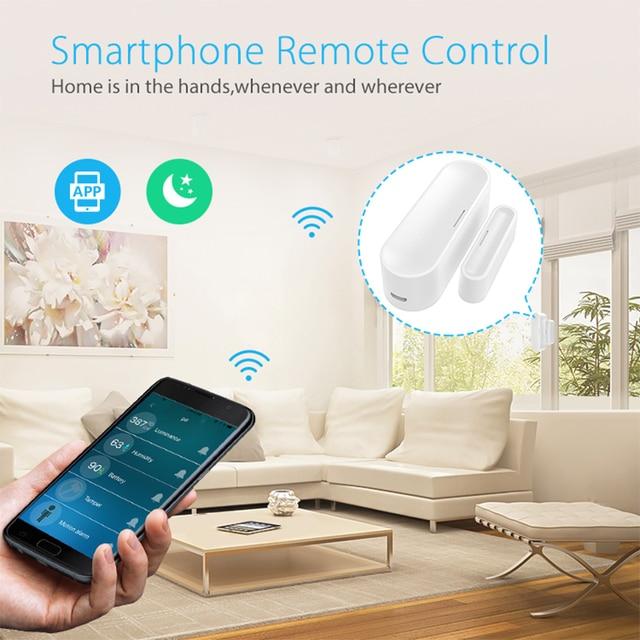 Sensor de ventana de puerta NEO Coolcam Z Wave Plus, alarma de seguridad, serie 700, carga de batería con USB, 868,4 MHZ, nuevo 3