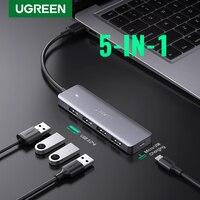 Ugreen USB 3.0 HUB Multi USB Splitter 3 USB3.0 2.0 Porta con Micro Carica per MacBook Pro Surface Accessori Per Computer HUB USB