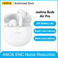 Realme Knospen Air Pro ANC ENC Aktive Geräuschunterdrückung Bluetooth 5,0 headset 10mm Bass Boost Fahrer Kopfhörer Drahtlose Kopfhörer