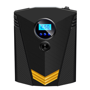 New Portable Digital Tire Inflator Air Pump for Car Motorcycle LED Light  Compressor DC 12V Power Cord