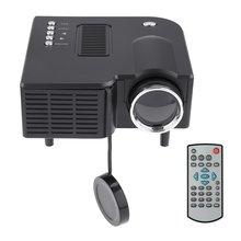 UC28 Мини-проектор HD Home 1080P портативный домашний кинотеатр проводной светодиодный проектор ЖК-дисплей технология для конференц-системы