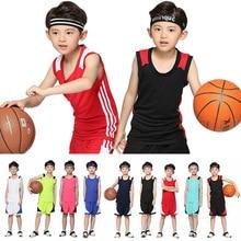 Молодежная баскетбольная форма, костюм для мальчиков, летние ученики, трикотажная форма, на заказ, детский сад, тренировочные костюмы для девочек