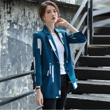 Large Size Korean Ladies Blazer Spring Green Loose Casual Suit Jacket Bayan Mont Stylish Office Spring Women's Clothing MM60NXZ