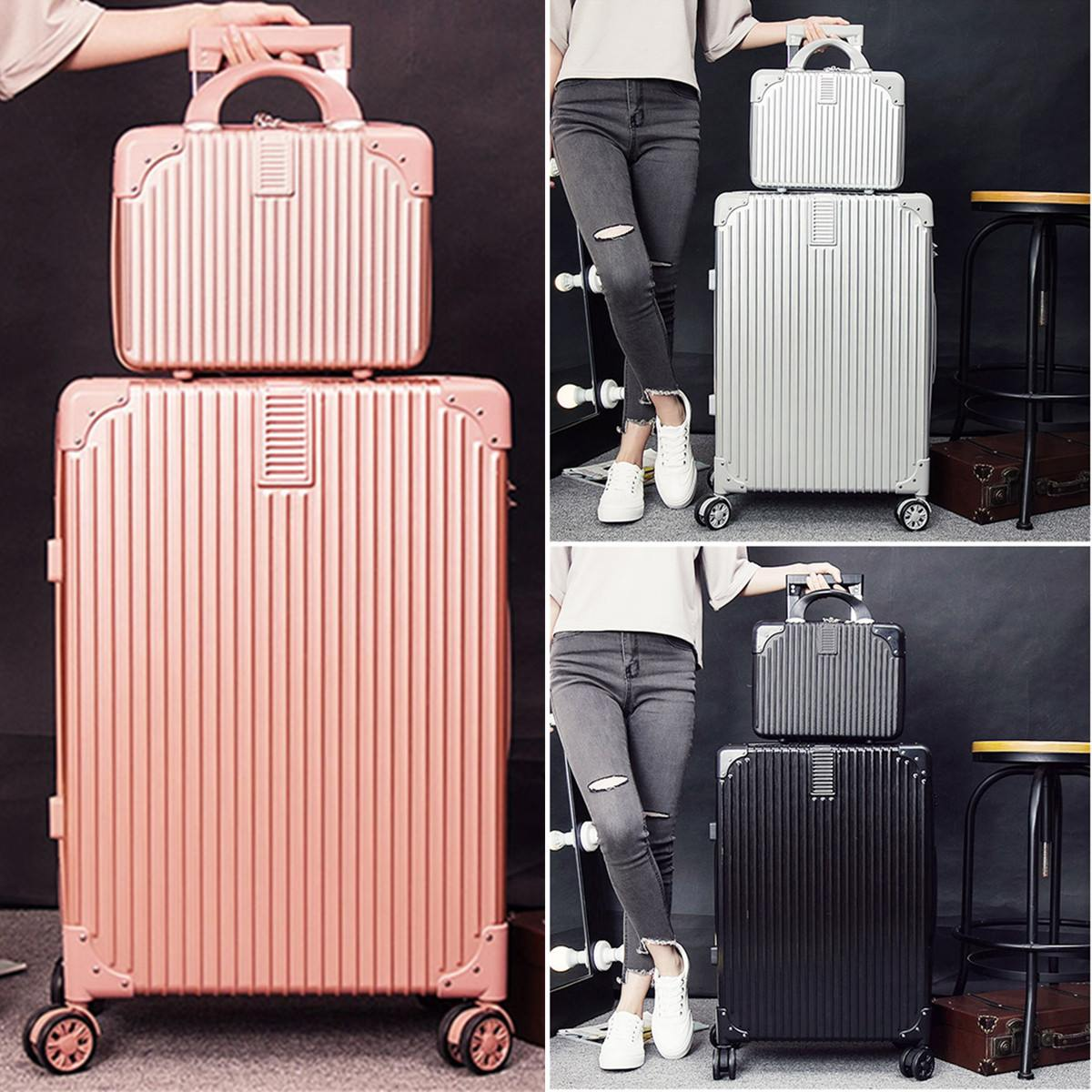 24 Inch Rolling Luggage Spinner Password Universal Wheels Women Travel Suitcase Men Fashion Cabin Carry-on Trolley Box Luggage
