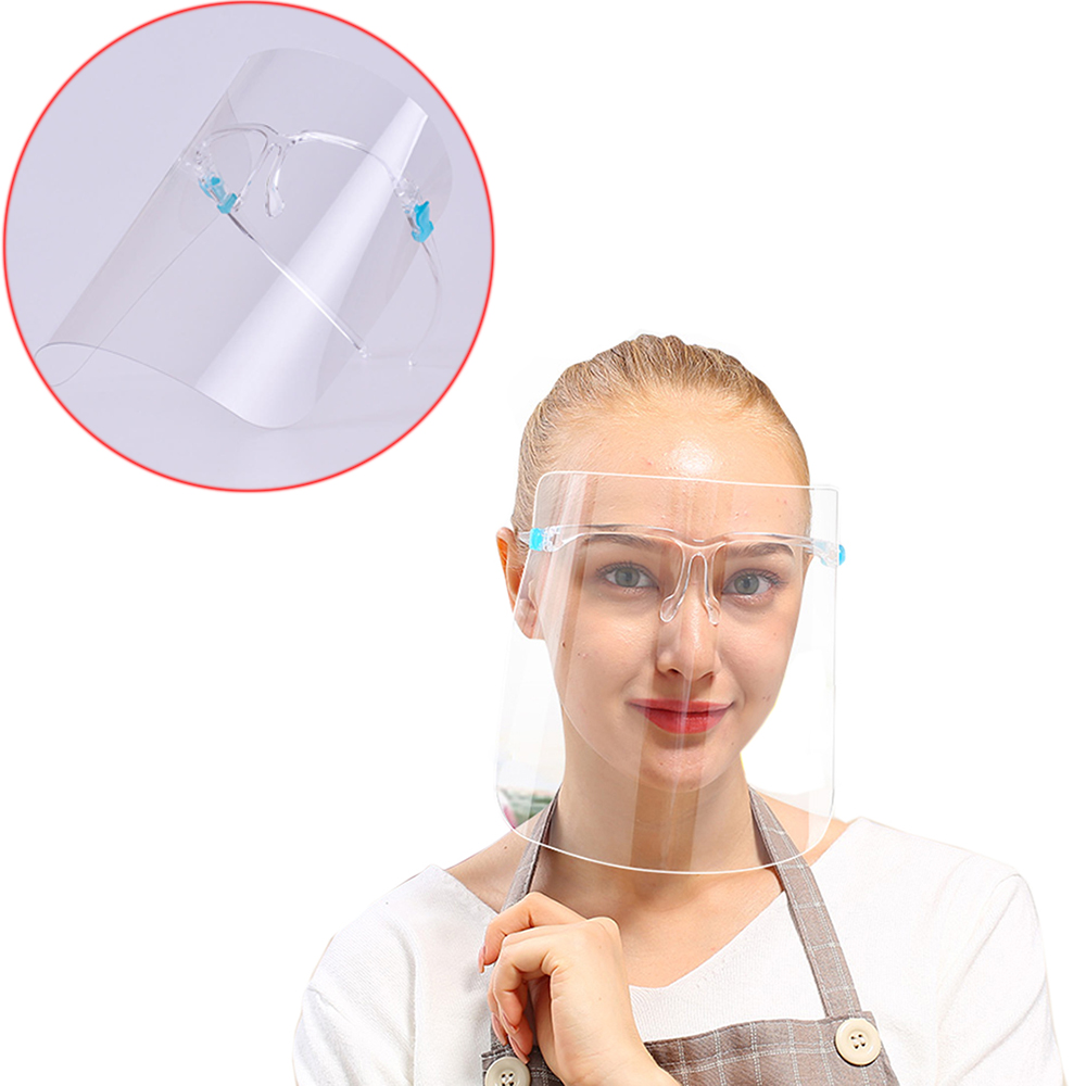 New Creative Protective Face Shield Kitchen Oil-Splash Proof Mask Transparent Virus Protection Mask Painting Face Protect 4