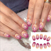 24Pcs Nail Art Stickers Blaze Patch Water Slide Adhesive Tape Nail Art DIY Decals Nail Art Beautiful Decoration for Home Salon(China)
