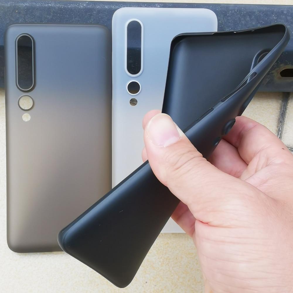 Ультратонкий матовый полипропиленовый чехол 0,4 мм для Xiaomi Mi10 Mi 10 Pro, Тонкий Ультратонкий Пластиковый защитный чехол