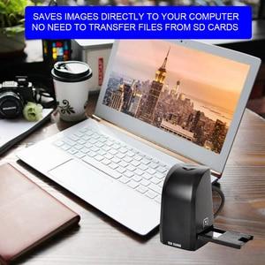 35mm 135mm Film Scanner 8MP Digital Color Photo Scanner Convert and Save Film Negatives & Slides Directly on Your Computer