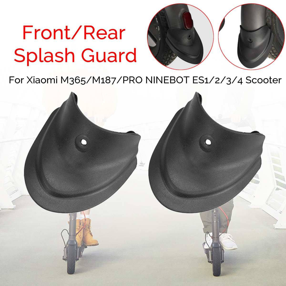 Splash Guards Modification Tuning Parts For Xiaomi M365/M187/PRO NINEBOT ES1/2/3/4 Electric Scooter