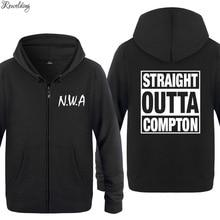 NWA Straight Outta Compton Hoodies Men Hip Hop Fleece Long S