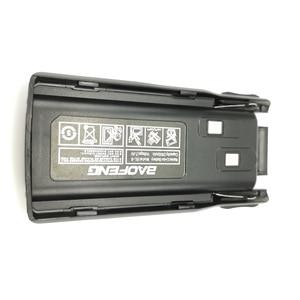 Image 4 - 5 pièces dorigine nouveau Baofeng UV 82 UV 8D talkie walkie 10km Li ion batterie 2800mAh BL 8 pour UV 8D UV 82 CB Radio Pofung UV82 UV8D