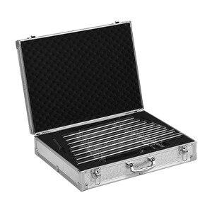 Image 4 - Arpa de cristal de 432Hz para cantar llave C, 8 notas de curación para terapia de sonido con mazos, funda de transporte de aluminio, instrumento Musical Xilófono