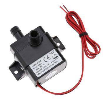400mA ultra-cicha Mini bezszczotkowa pompa wodna DC USB 12V 4 8W 250-400L H podnieś niski poziom hałasu zatapialna fontanna akwarium krążące tanie i dobre opinie CN (pochodzenie) others CHARGE 55(L) x 34(w) x 41(H) mm 240L H