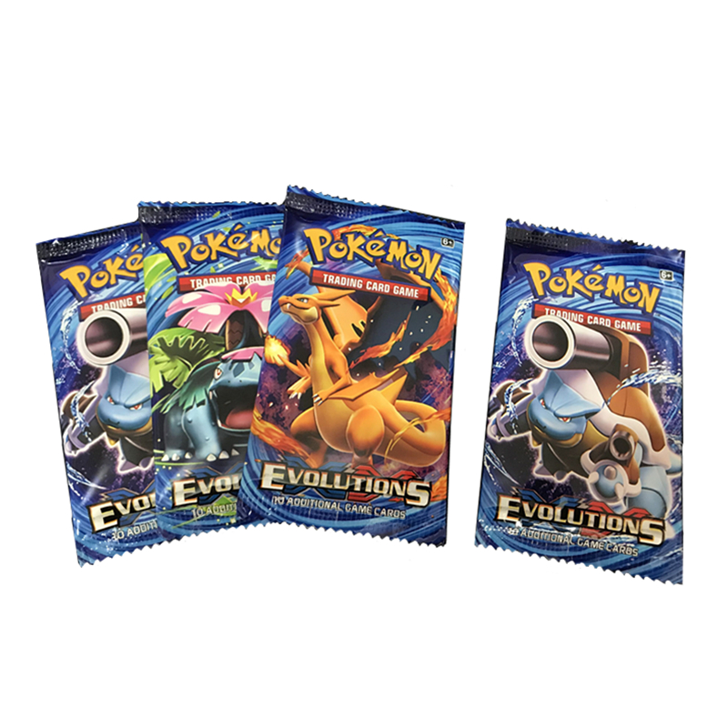 324Pcs Game Collection Cards Pokemon Cards Booster Boxes Sun & Moon Evolution Sword Shield Hidden Fate Trading Card Kids Toys 4