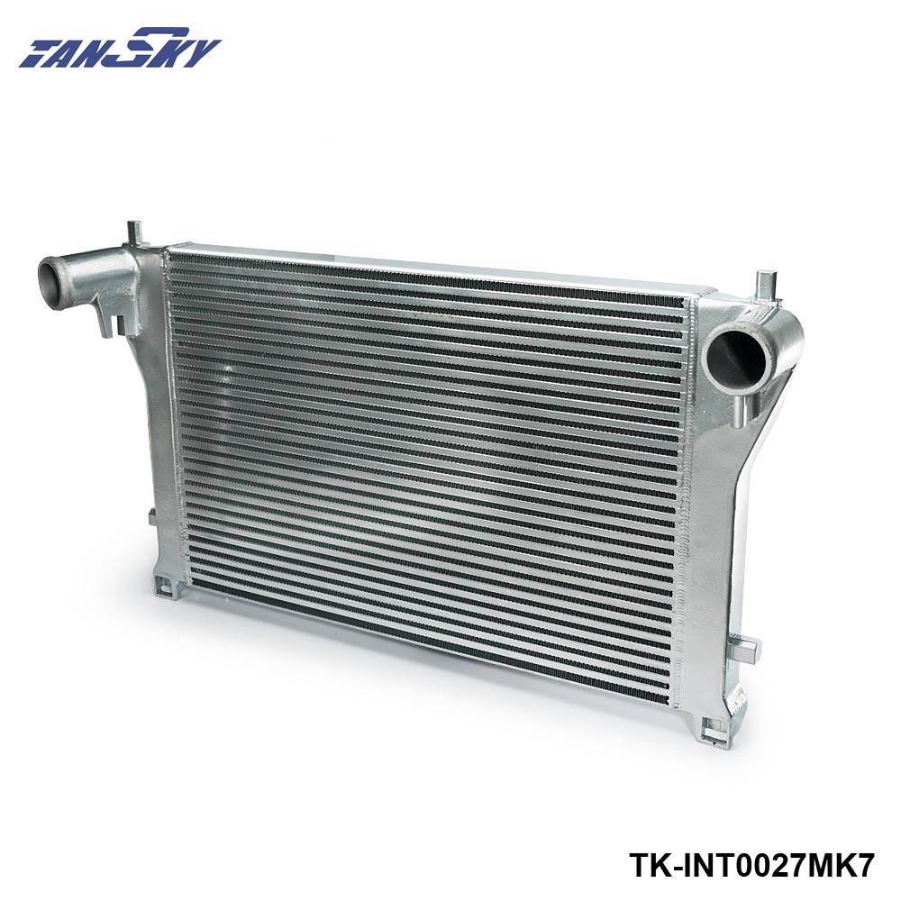 Алюминиевый интеркулер с болтами для Audi A3/S3/VW Golf GTI R MK7 EA888 1,8 T 2,0 T TSI, комплект с болтами для Audi A3/S3/VW Golf GTI R MK7 EA888 1,8 T 2,0 T TSI