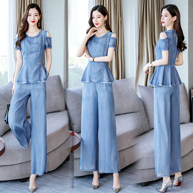 Versitile Fashion Set 2019 Summer Trend Comfortable Simple