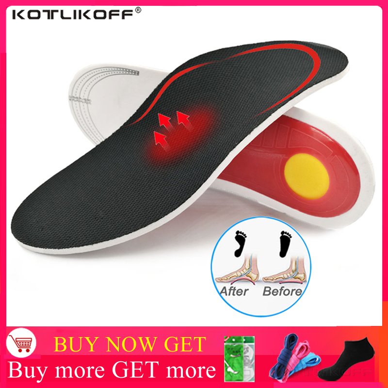 Arch Support Insole For Flat Feet Men Women Orthopedic Shoe Pad O/X Leg Correction Foot Pain Relief Inner Sole For Shoes Insoles
