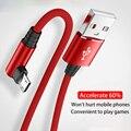 Кабель передачи данных Micro-USB, 3A (под углом 90 градусов) для передачи данных кабель для зарядки для Samsung LG Xiaomi Мобильный телефон быстрой зарядки...