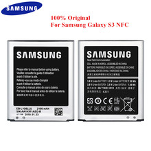 100% Original Battery EB L1G6LLU for Samsung Galaxy S3 GT i9300 i9305 i747 i535 T999 L710 I9300I 2100mAh Real Capacity with NFC
