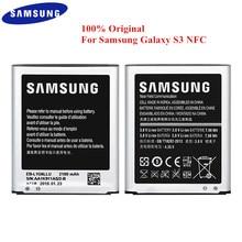 EB L1G6LLU de batería 100% Original para Samsung Galaxy S3, GT i9300, i9305, i747, i535, T999, L710, I9300I, 2100mAh, capacidad Real con NFC