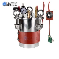 Quick Connect Stainless Steel Glue Dispensing Heating Constant Temperature Pressure Tank SMC Pneumatics With Heater Strap Belt