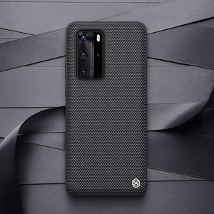 Image 2 - Case for Huawei P40 P40 Pro Case NILLKIN Textured Hard PC Soft TPU Luxury Non Slip Full Cover Phone Cases for Huawei P40 Pro Bag