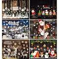 Staraise новогодние наклейки на окно с Рождеством украшение для дома Рождественское украшение Navidad 2020 подарок с новым годом 2021
