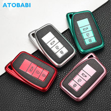 TPU Car Key Cases Smart Keychain Remote Control Protector Cover Skin For Lexus ES350 GS300 GS350 GS430 GS450h IS250 IS350 LS460